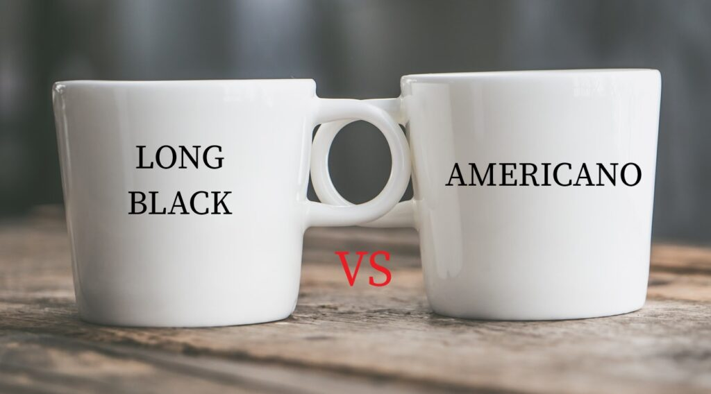 Long Black Vs Americano