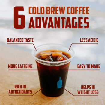 cold brew coffee advantages