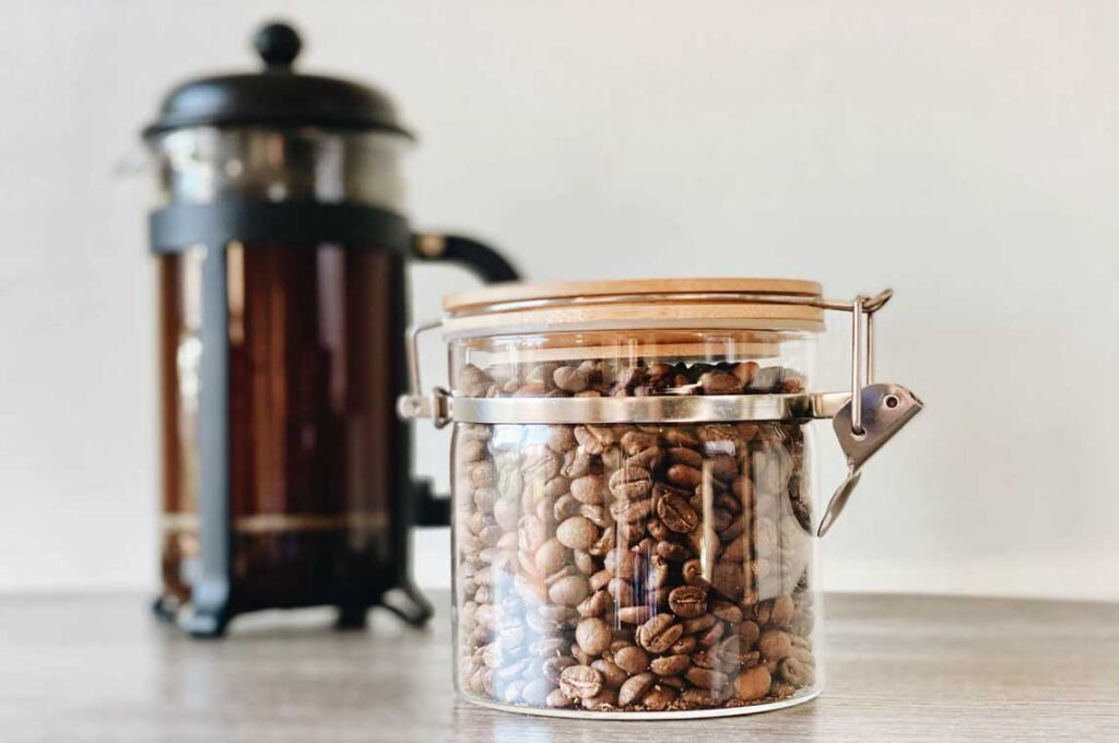 cofee beans for french press